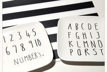 Tableware DIY / らくやきマーカーを使ったデザインアイディア