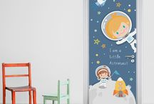 KIDS DOOR STICKERS / STICKY