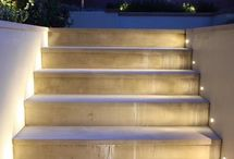 kinti lépcső