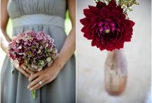 Grey and red weddings