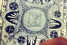 doodles zentangle