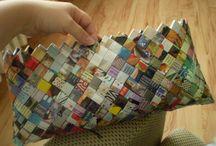 riciclo creativo carta