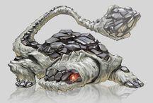 Illustrations: Creatures