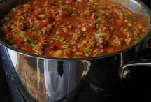 Soup and stews and chili