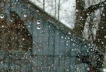 "RAIN """""""""" / by Yvonne Fitzell"