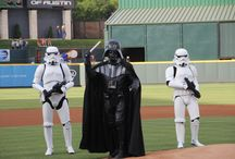 Star Wars Night / May the force be with you! Looking for some inspiration for Star Wars Night at Dell Diamond on Friday, May 1? We've got you covered!   Star Wars Night - Friday, May 1