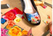 Creare/pictura  incaltaminte