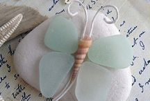 Sea glass & Sea pottery