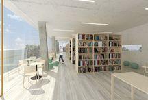 Knihovna a společenské centrum Úvaly / rok: 2016 architektonická soutěž, Zavoral Architekt, spoluautor: František Košňar