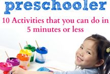 Preschool fun at home