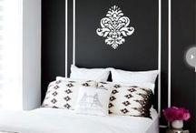 ❅Decor Quarto - Preto & Branco