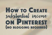 pinterest no blogging