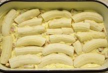 banánové rezy