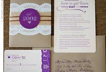 Wedding Invitations / by Kelly Koster