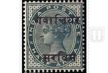 British India - Convention State  - Stamps of Gwalior Official / Collection of stamps of Gwalior Official of British India - Convention State