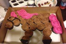 Perd cupcakes