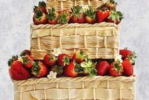 Inspiracie - Letne svadobne torty/ Inspirations - Summer Wedding Cakes