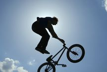 Bike stunts / Bike stunts!