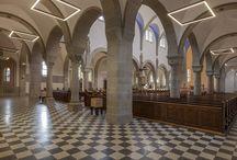 Projekt: Heilig-Geist-Kirche, Karlsruhe-Daxlanden / Design: Matthias Friedrich, lunalicht, Karlsuhe Fotograf: Mathias Klaiber