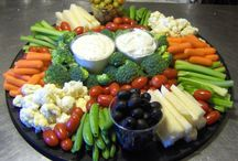 Food Vegetables & Fruits trays etc / Vegetables & Fruits / by Cheyenne Whitebird