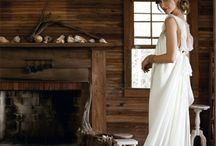 Wedding dresses / wedding dress flowers ideas