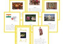 Asia Montessori continent study