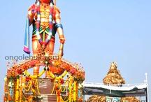Abhyanjaneya Swami Statue At Peddakothapally,Madipadu-Prakasam District