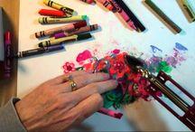 Art: Crayon Melt Technique