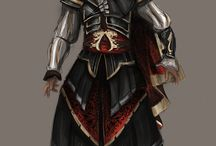 Assassins creed - altair concept art / altair armor from assassin's creed brotherhood
