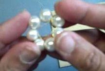 Beads and rhinestones