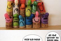 art voor kids / leuke kunstwerkjes