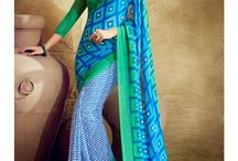 Casual Sarees / collection of casual sarees.