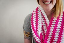 Crocheted hats and scarves / by Carmen Graham