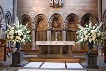 Church and ceremony flowers / Ceremony decor