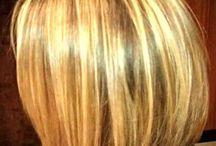 Hair styled / Short bob