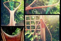 Trout Nets Buchta / Handmade landing nets, fly fishing, spinning fishing