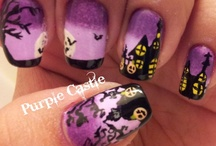 Halloween nails / by Janeane Wolfe