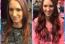 Hair Extensions / At Blonde Ambition we offer multiple types of hair extensions including HaloCouture, Cinderella Hair, and Dreamcatchers!
