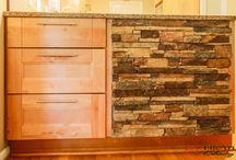 Stone Applique / Stone applique design in homes