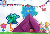 camping kleuters
