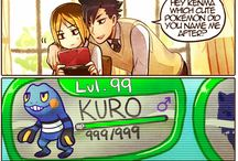 Kenma x Kuroo