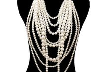 Gold Chain Multi Layer Pearl Necklace Set 10 Layer Pearl Earrings Super Long