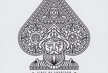 A card tattoo