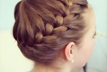 Cool hair ups / Anything up and cute