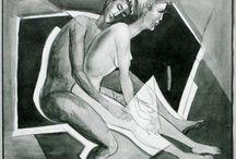 EROTIC ART SHMOKHIN / Любовь мужчины к женщине в усладе  наслаждения.
