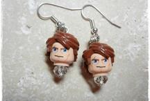 Star Wars Lego Earrings