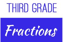 Third Grade: Fractions / This board contains resources for Texas TEKS:  3.3A, 3.3B, 3.3C, 3.3D, 3.3E, 3.7A, 3.3F, 3.3G, 3.3H