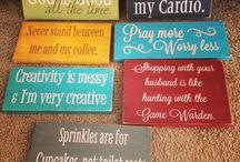 Creative sayings