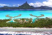 InterContinental Bora Bora Resort and Thalasso Spa / This Bora Bora resort is set on Motu Piti A'au, with a stunning view of Mount Otemanu, and features a thalasso therapy spa, overwater wedding chapel, and coral garden.