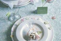 assiette créative pour deco mariage